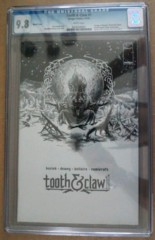 Tooth & Claw #1 Sketch Variant CGC 9.8