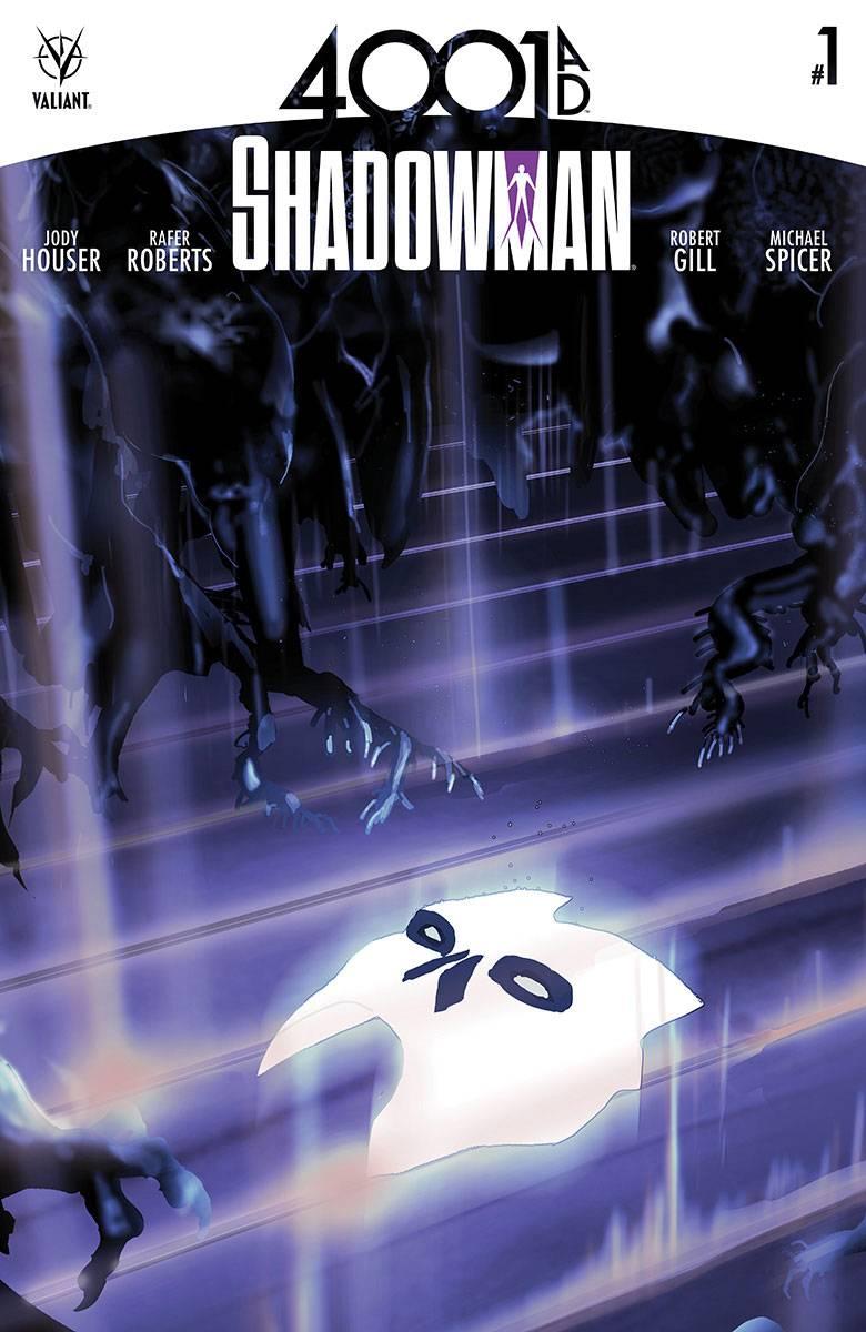 4001 AD Shadowman #1 Cover A Foreman