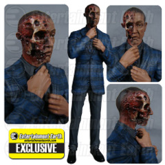 Breaking Bad Gus Fring Burned Face Action Figure - EE Exclusive