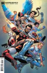 Suicide Squad Vol 6 #9 Cover B Travis Moore Variant