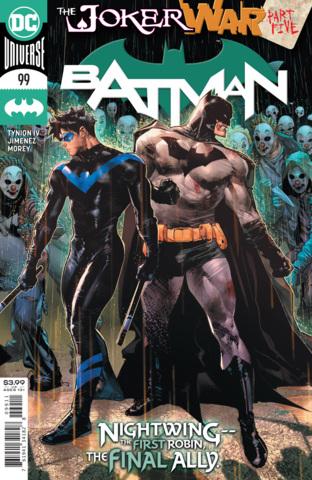 Batman Vol 3 #99 Cover A Jorge Jimenez