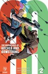 A&A: Archer & Armstrong #2 Cover B Kano