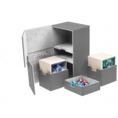 Ultimate Guard Deck Case Twin Flip N Tray 200+ Xenoskin Grey