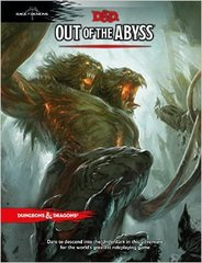 Dungeons & Dragons Book: Out Of The Abyss