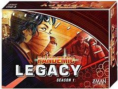 Pandemic Legacy Season 1: Red