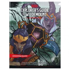 Dungeons & Dragons Book: Explorer's Guide to Wildemount