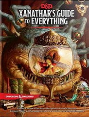 Dungeons & Dragons Book: Xanathar's Guide To Everything