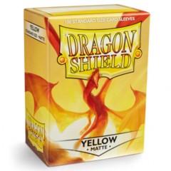 ATM11014 Dragon Shield Sleeves: Matte Yellow