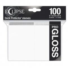 ULPDPR15600 Ultra Pro Sleeves: Eclipse Pro Gloss: Arctic White