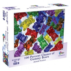 100% Chance of Gummy Bears 1000pc puzzle