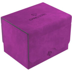 GameGenic Sidekick 100+ Card Convertible Deck Box: Purple
