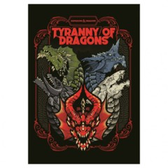 Dungeons & Dragons Book: Tyranny of Dragons