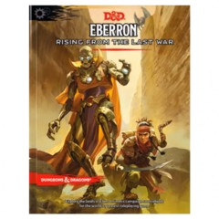 Dungeons & Dragons Book: Eberron Rising From The Last War
