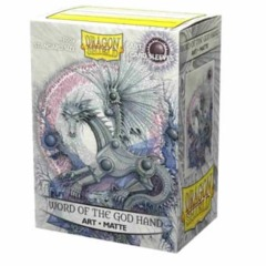 ATM12039 Dragon Shield Sleeves: Art Word of the God Hand