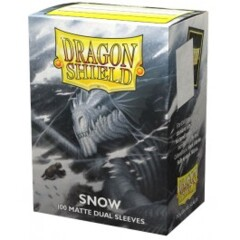 ATM15005 Dragon Shield Sleeves: Double Matte Snow