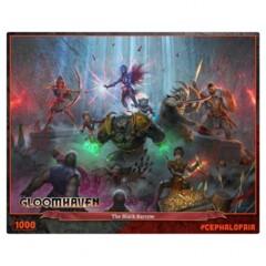 Gloomhaven: Black Barrow 1000pc puzzle
