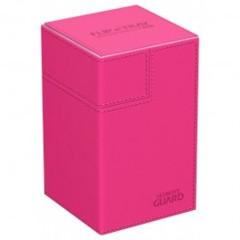 Ultimate Guard Deck Case Flip N Tray 100+ Standard Size Xenoskin Pink