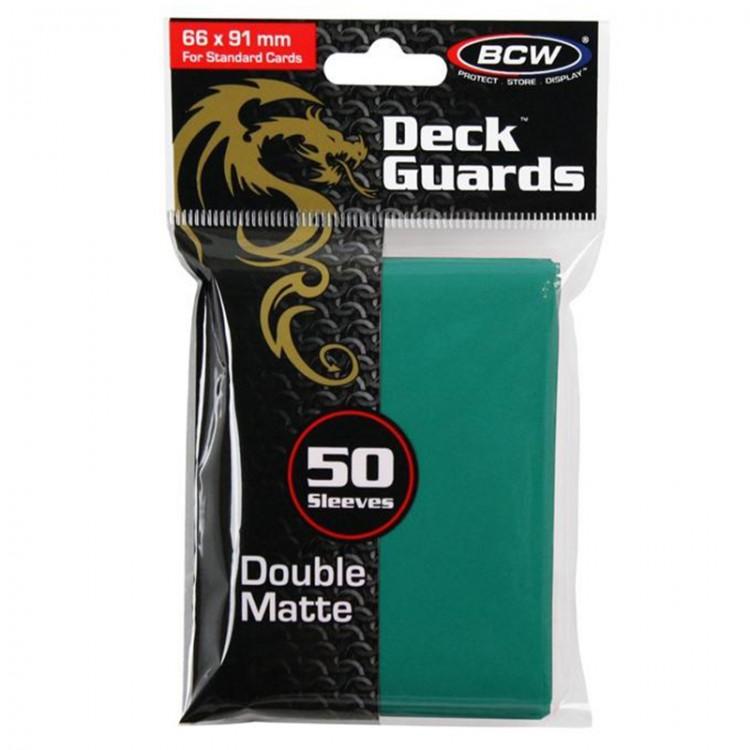 BCW Deck Guard: Matte Teal