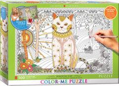 Magical Cat Color Me - 500 pc puzzle