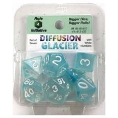 Roll For Initiative Diffusion 7 Set: Glacier w/White