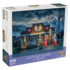 Country Store At Night 1000pc puzzle