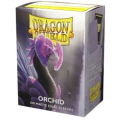 ATM15041 Dragon Shield Sleeves: Double Matte Orchid