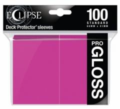 ULP15609 Ultra Pro Sleeves: Eclipse Pro Gloss: Hot Pink