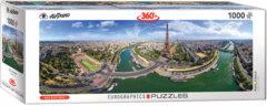 Paris France - Panoramic 1000 pc puzzle
