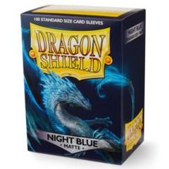 ATM11042 Dragon Shield Sleeves: Matte Night Blue