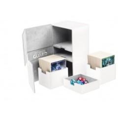 Ultimate Guard Deck Case Twin Flip N Tray 200+ Xenoskin White