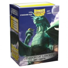 ATM12052 Dragon Shield Sleeves: Art Dragon of Liberty