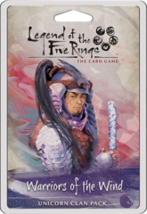 Legend of the Five Rings LCG: Warriors of the Wind Unicorn Clan Pack