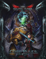 Warhammer 40K Wrath & Glory RPG: Core Rulebook Hardcover