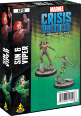 Marvel: Crisis Protocol - Sin & Viper Character Pack