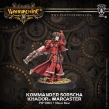 Kommander Sorscha - Khador Warcaster