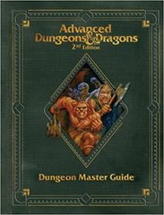 Advanced Dungeons and Dragons 2nd Edition Premium Dungeon Master Guide