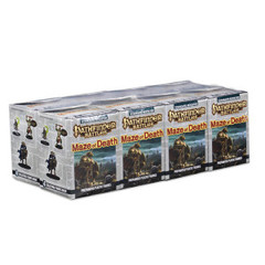 Pathfinder Battles Miniatures: Maze Of Death 8-Count Booster Brick
