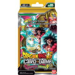 Dragon Ball Super - Series 5 Starter Deck - The Crimson Saiyan