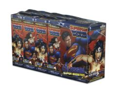 Heroclix Superman Wonder Woman 8 Ct. Plus Super Booster Brick