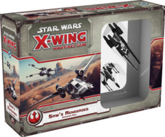 Star Wars X-Wing - Saw's Renegades Expansion Pack