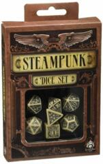 Steampunk Clockwork 7-Die Set - Beige/Black