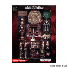 Dungeons & Dragons Fantasy Miniatures: Icons of the Realms Set 11 Waterdeep - Dungeon of the Mad Mage Halaster's Lab Premium Set