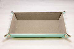 Best Dice Tray - Rectangle: Teal W\Grey