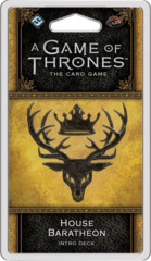 A Game of Thrones LCG: 2nd Edition - House Baratheon Intro Deck