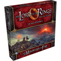 The Lord of the Rings LCG: The Mountain of Fire Expansion