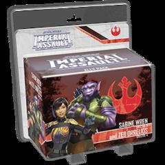 Star Wars: Imperial Assault - Sabine Wren and Zeb Orrelios Ally Pack