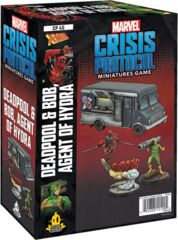 Marvel: Crisis Protocol - Deadpool & Bob, Agent of Hydra Character Pack