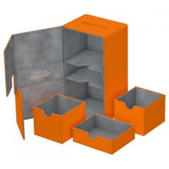Ultimate Guard Twin Flip N Tray 200+: Orange
