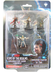 Dungeons & Dragons Fantasy Miniatures: Icons of the Realms Set 10 Guildmaster's Guide to Ravnica Companion Starter Two