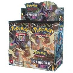 Sun & Moon Forbidden Light Booster Box